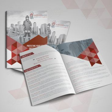 Al Hudaib Brand Print Friendly Brochure Design