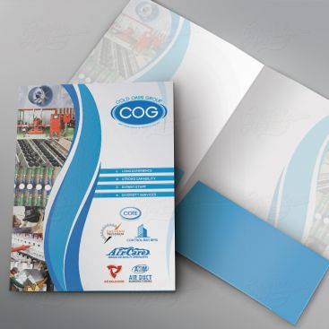 Cold Oasis Group Folder Print Friendly Brochure Design
