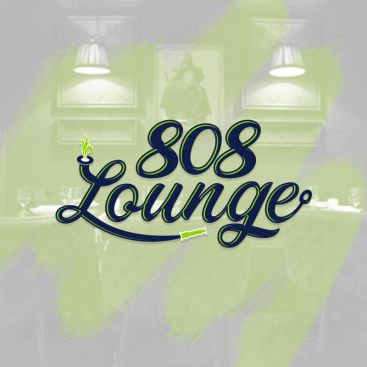 808 Lounge Logo Design