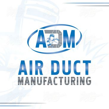 Air Duct Manufacturin Logo Design