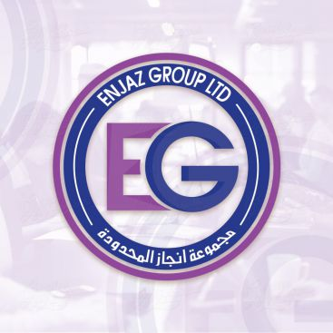 Enjaz Group LTD Logo Design