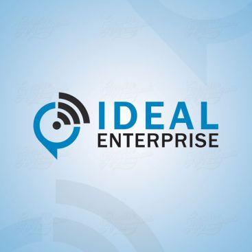 Ideal Enterprise IT Solution Logo Design