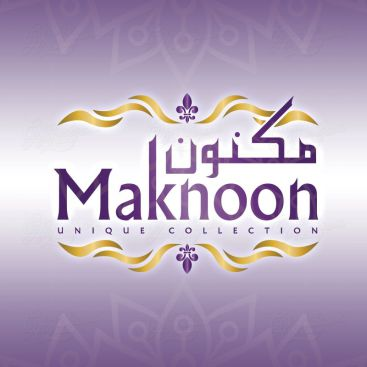 Maknoon Collection Logo Design