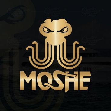Moshe Marine Logo Design