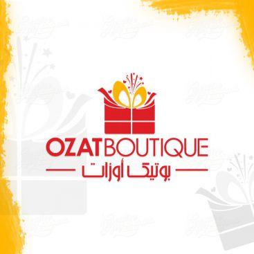 Ozat Gift Store Logo Design