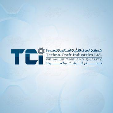 تكنو كرافت للصناعات شعار التصميم