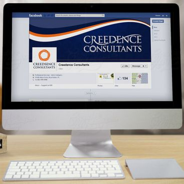 Creedence Consultants Social Media Banner Design