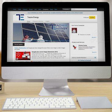 تكنولوجيا الطاقة تصميم وسائل الاعلام الاجتماعية