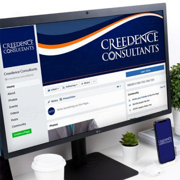 Creedence Consultants Social Media Banner Design Design