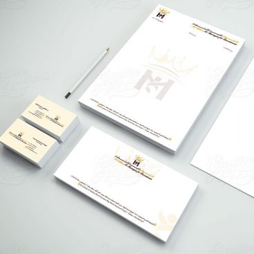 Sultan Al Mumayaz Stationery & Business Card Design