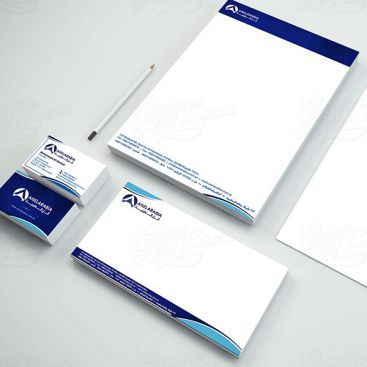 Anel Arabia Stationery & Business Card Design