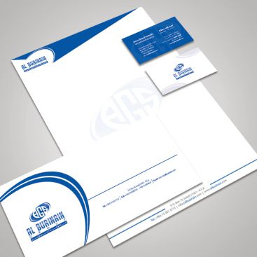Al Buainain Group Stationery & Business Card Design