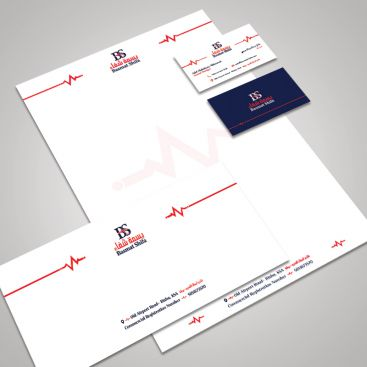 Basmat Shifa Medical & Doctor Stationery & Business Card Design
