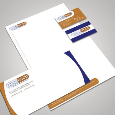 Chemwood Asia Wood Works Stationery & Business Card Design