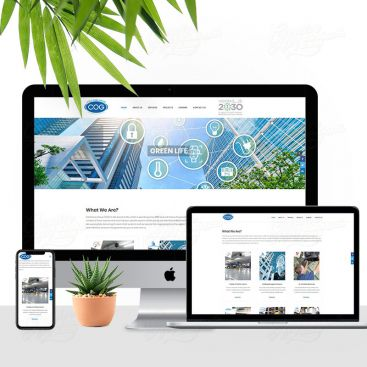 Cold Oasis Group COG Mobile Friendly Website Design