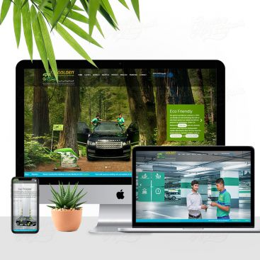 Golden Car Washers Mobile Friendly Website Design
