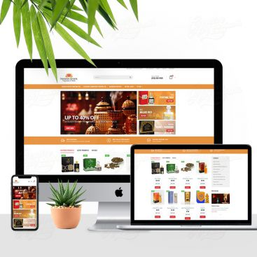 Insiyah Atoor Oud & Perfume Online Store Mobile Friendly Website Design