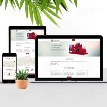 Al Hudaib Brand Mobile Friendly Website Design